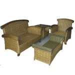 EB-91951 Rattan Table & Chairs