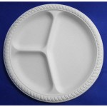 EB-93559 9inch Biodegradable Plate