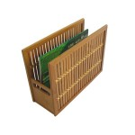 EB-71953 Bamboo Magazine Holder