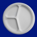 10inch 3-Section Biodegradable Plate (EB-93560)