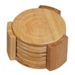 EB-93954 Carbonized Bamboo Coaster