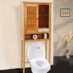 Bamboo Bathroom Cabinet (EB-91352)