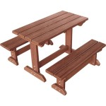 EB-81951 WPC Picnic Table Set